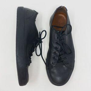 Frye men's leather black tennis shoes ✨size 9